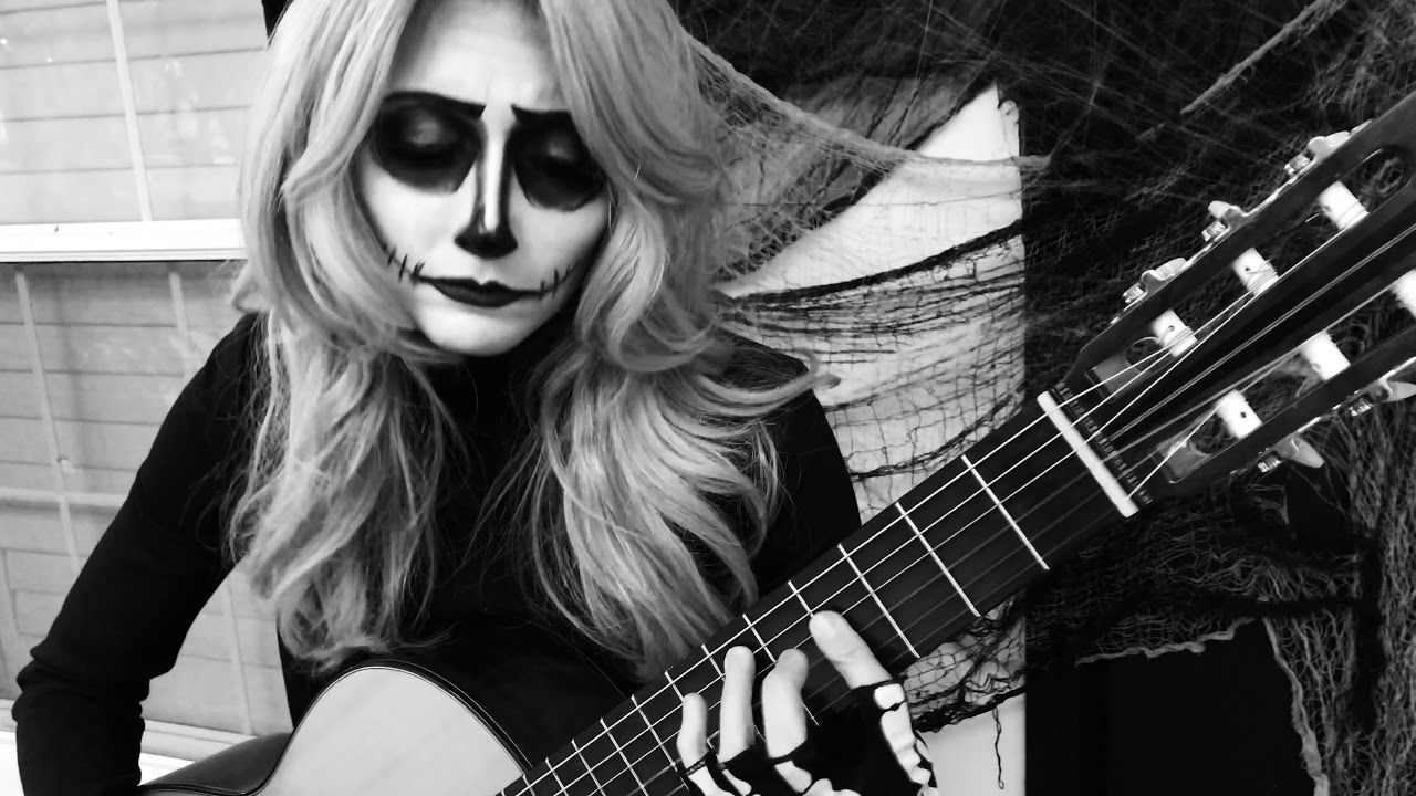 Jack's Lament - The Nightmare Before Christmas - Classical Guitar - YouTube