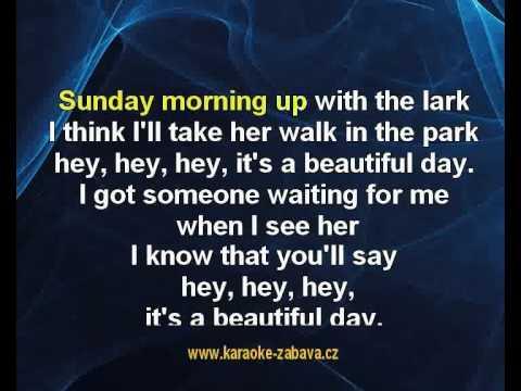 Beautiful sunday - Daniel Boone Karaoke tip