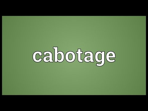 Cabotage Meaning
