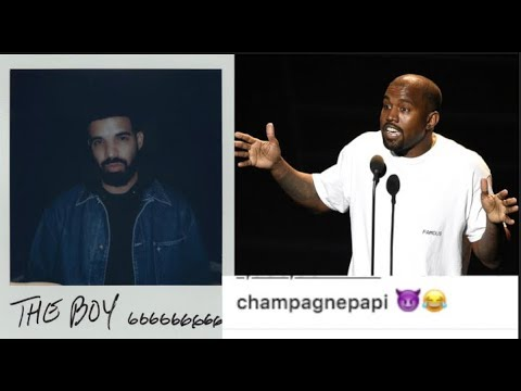 Drake Trolls Kanye West With A Purple Demon Emoji After Ye Exposed Drake Texts Him