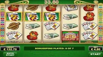 Super Risk Game On Billyonaire Slot Machine - 7 Bonus Spins