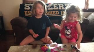 Olivia and Nikayla's First Video!!