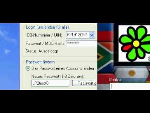 Icq passwort geknackt images 24