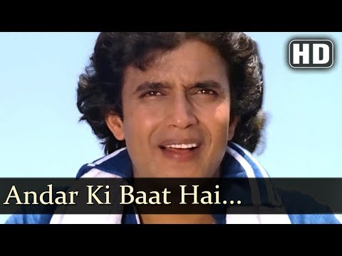 Andar Ki Baat Hai - Adat Se Majboor Songs - Mithun Chakraborty - Mohan Choti - Bollywood Songs