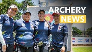 Equipo colombiano feminino estableció nuevo récord mundial en Medellin [ESPAÑOL] |Archery News