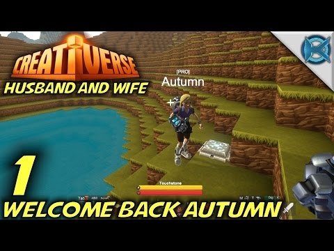 Creativerse -Ep. 1- Welcome Back Autumn -Let's Play Husband & Wife Gameplay-(S3)
