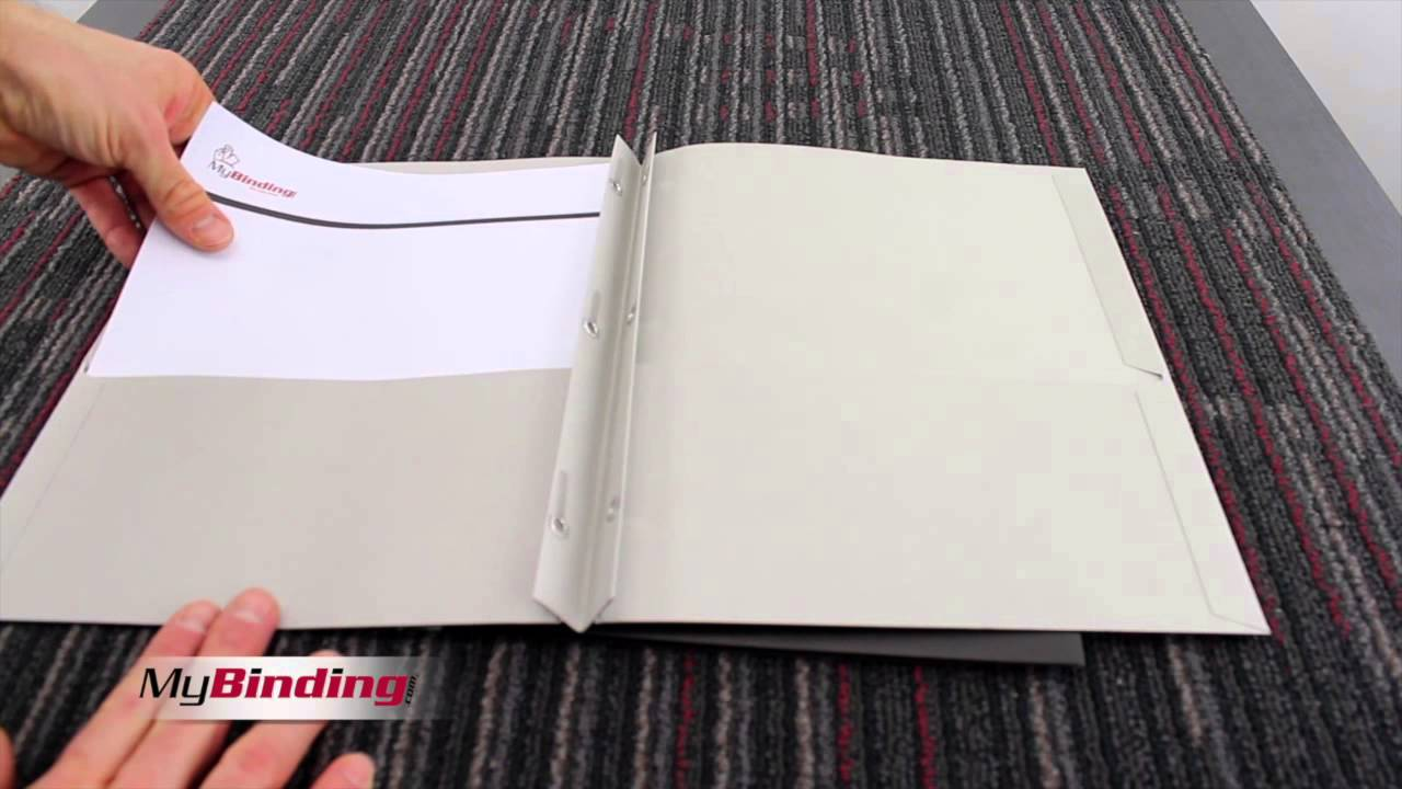 avery two pocket folder with fasteners youtube