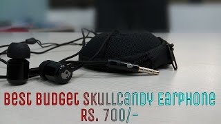 Best Budget Skullcandy Earphone Unboxing | Review | Hindi Rs. 700/-...