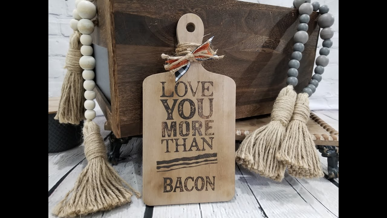More than bacon - Wood burning - part two