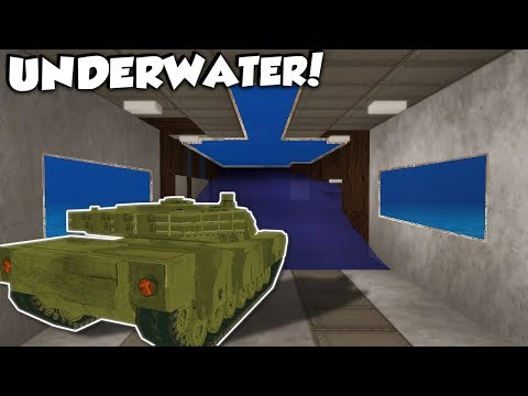 SECRET UNDERWATER BASE TUNNEL! - Voxel Turf Gameplay - City Base Building Game!