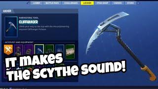 Cliffhanger Pickaxe is the Scythe in 2018 | Fortnite Battle Royale