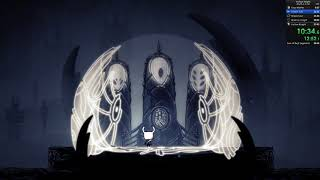 Hollow Knight Any% No Storage OOB Speedrun - 27:06 loadless [WR]