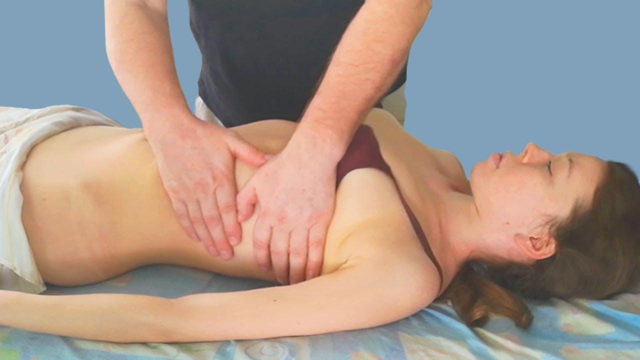 Массаж живота и передней части грудной клетки в условиях SPA. Правила и особенности процедуры