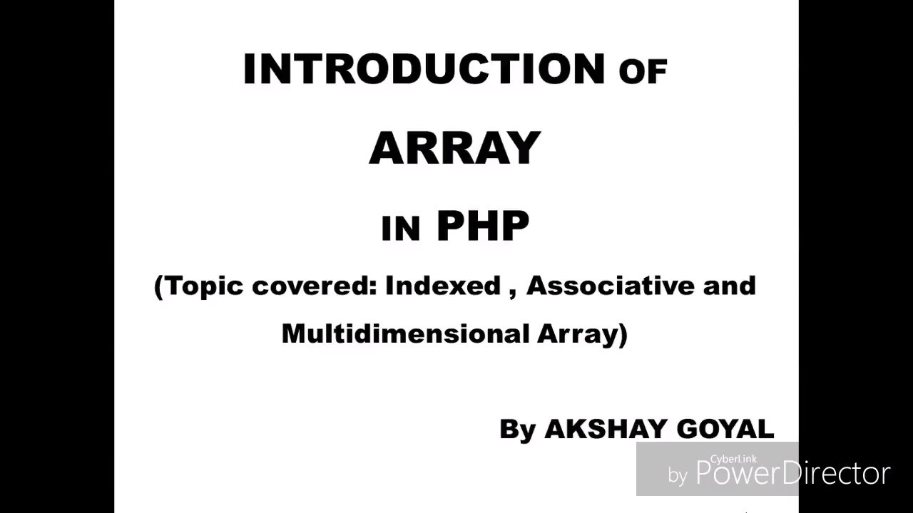 indexed array in php | php indexed array | coding adda