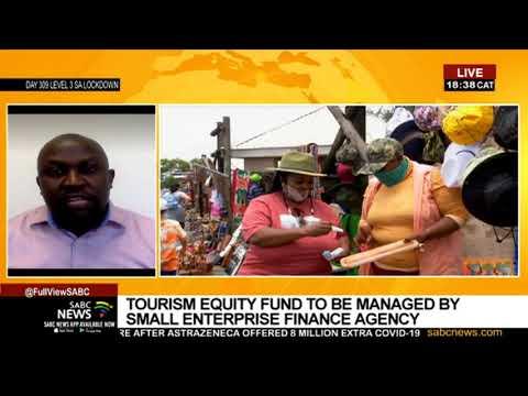 Reaction to launch of the R1.2 billion Tourism Equity Fund: Tshifhiwa Tshivhengwa