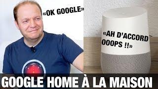 Google Home en français : test de l'assistant intelligent
