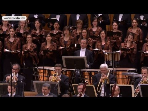 Leonard Slatkin - Beethoven - Ode to Joy - HD