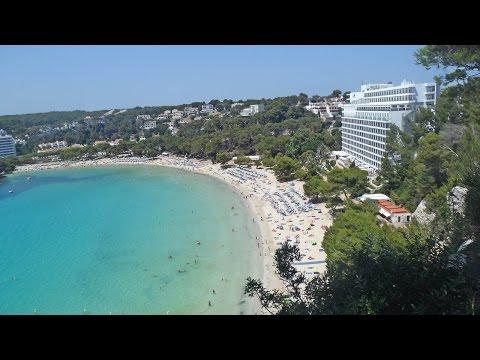 Beach Cala Galdana Menorca (Baleares)