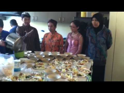Indonesian AEI ATDOP Students Cooking & Culture Night