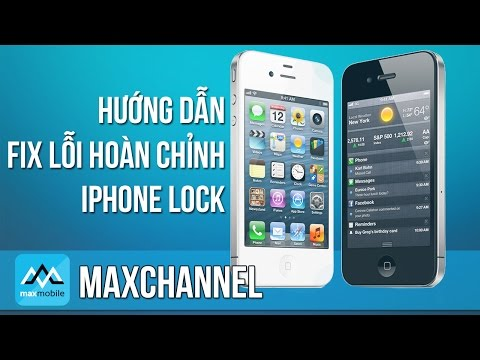 Hướng dẫn fix lỗi iphone 5 lock