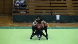 2013全国高校新体操選抜大会 男子新体操 団体7位.