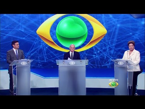 Debate da Band 26/08/2014 - Presidente da República do Brasil