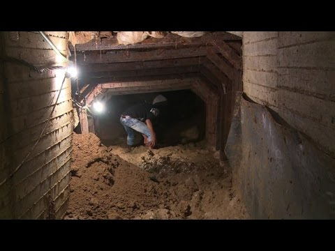 Land damage has Gazans pointing finger at 'Egypt pipeline'