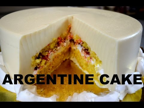How To Make ARGENTINE CAKE!!!