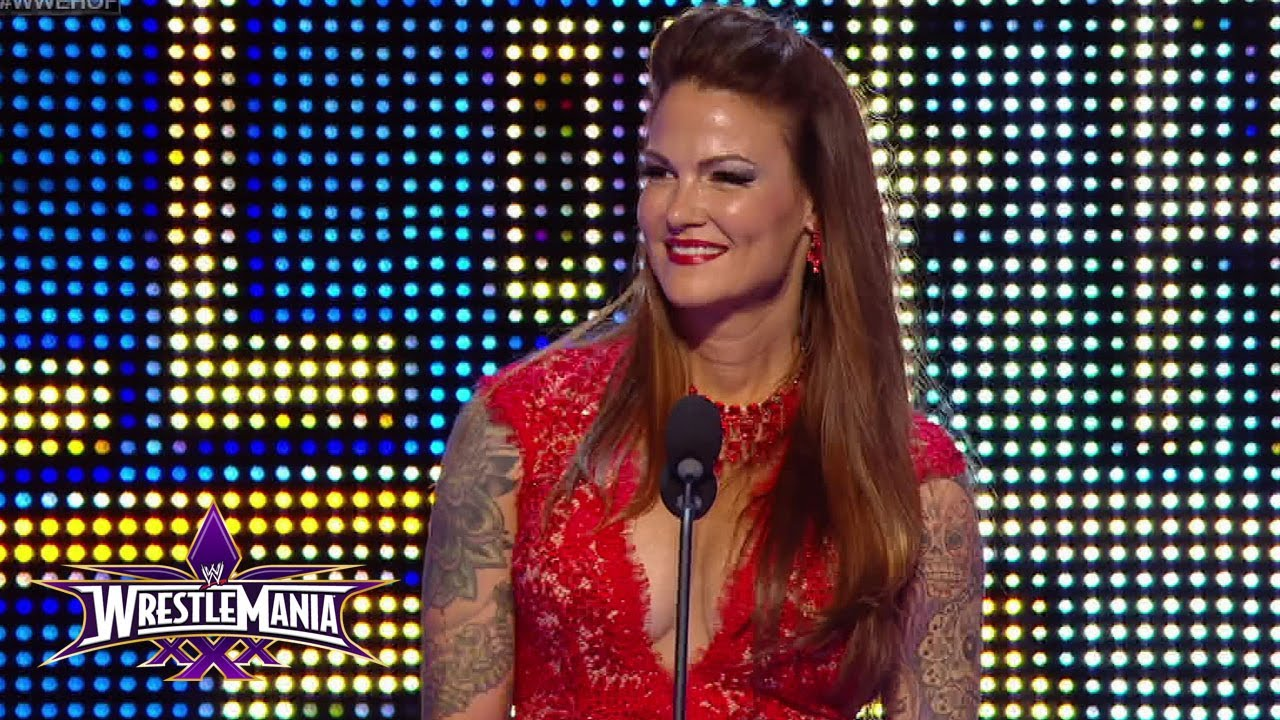 A sneak peek of Lita's 2014 WWE Hall of Fame Induction Speech ...