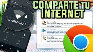 Utiliza tu Celular como Modem y Antena WiFi para tener Internet en tu PC / Metodo Sin Apps