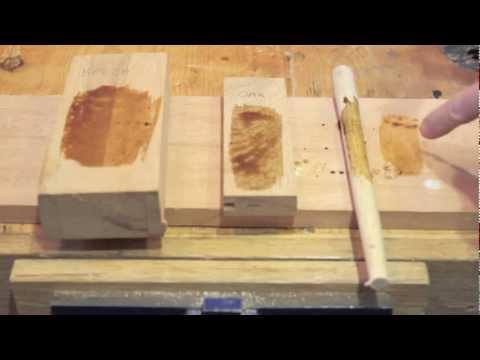 Ebonising Wood - Oak, Beech and Ash