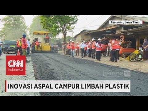 Inovasi Aspal Campur Limbah Plastik