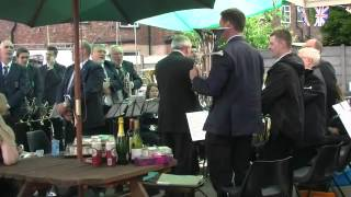 Hazel Grove Brass Band - Leaning On A Lamp Post