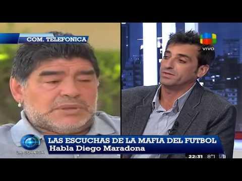 """Diego Maradona: """"Grondona nos entregó en la final del 90"""""""