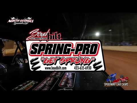 #97 Jamie Godbee - Pony - 11-11-17 North Georgia Speedway - In Car Camera