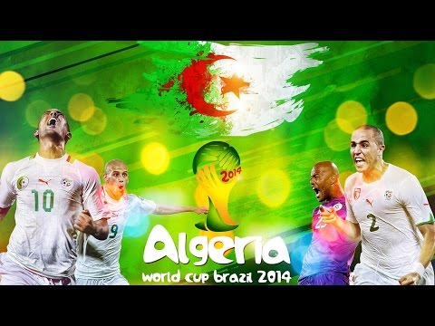 Algeria - Best Moments in The World Cup 2014