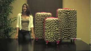 Rockland F196 Designer 3-Pc Lightweight Hardside Spinner Luggage Set Thumbnail