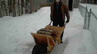 Rat Rod Wheelbarrow