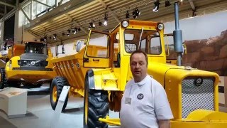 Volvo A60H Articulated Hauler at Bauma 2016