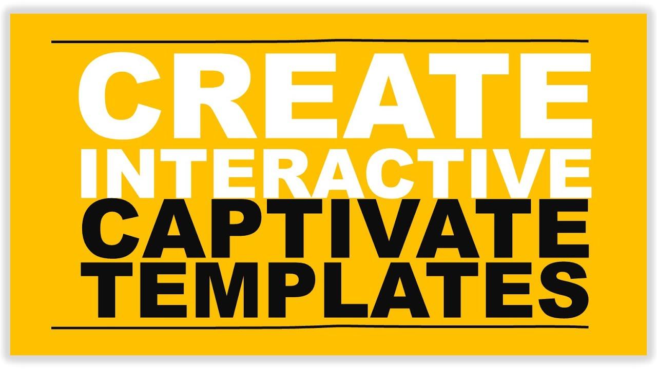 Create interactive captivate templates youtube create interactive captivate templates maxwellsz