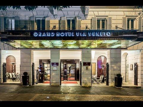 Grand Hotel Via Veneto Rome Italy