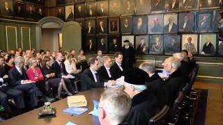 PhD defence ceremony in the Senate Room thumbnail