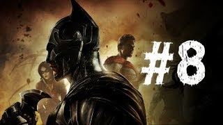 Injustice Gods Among Us Gameplay Walkthrough Part 8 - Batman - Chapter 8