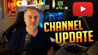 Livestream demnächst auf YouTube? Tutorials und Freizeit | Channel Update thumbnail