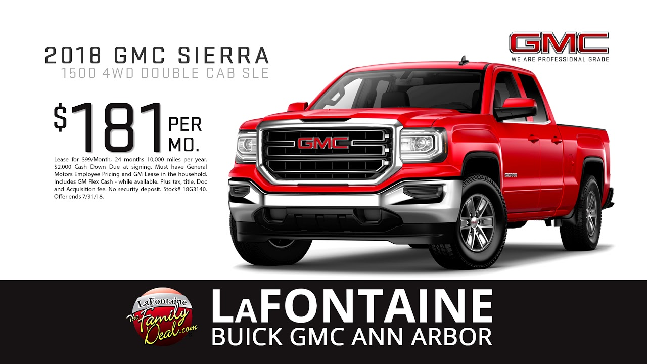 lafontaine buick gmc of ann arbor summer 39 s hottest deals july youtube. Black Bedroom Furniture Sets. Home Design Ideas
