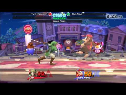 JRWI! 6.5 Chao Garden Arcadian - The Zone (Link) vs Treeborn (Diddy) Losers Finals