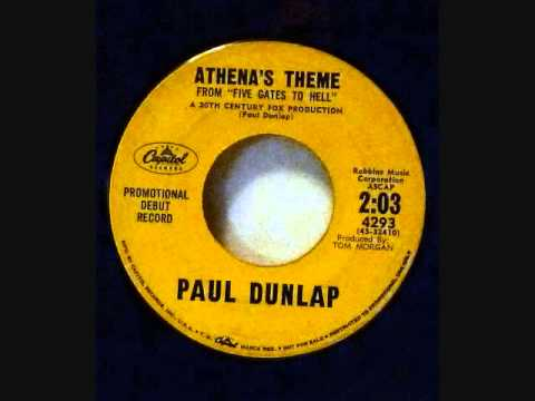 Paul Dunlap-Athena's Theme - Five Gates To Hell/Lili's -Capitol Debut 45 Library