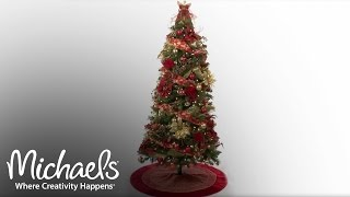 Create a Spectacular Tree | Holiday Tree Décor | Michaels