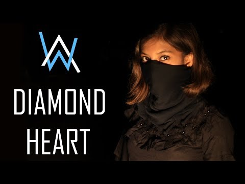 alan-walker---diamond-heart-|-cover-by-kankana-|-(feat.-sophia-somajo)-|-krs