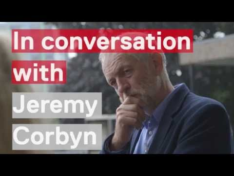 In conversation with Jeremy Corbyn  documented by Ken Loach